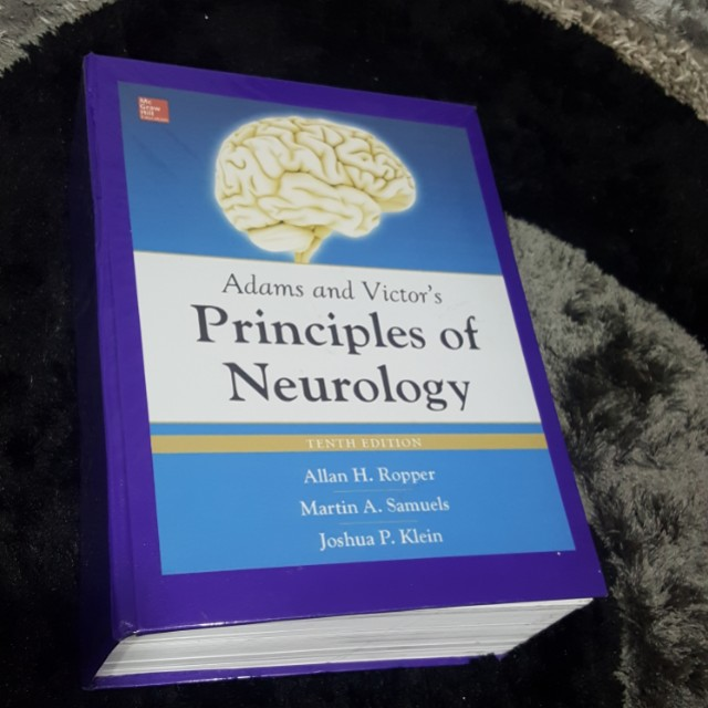 Adams and Victor's Principles of Neurology 10th edition Reprint