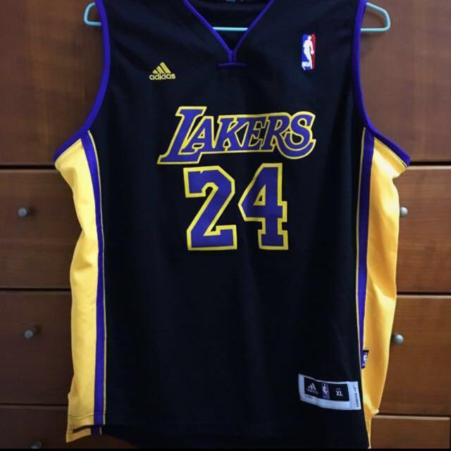 Adidas Lakers 湖人隊 Kobe球衣