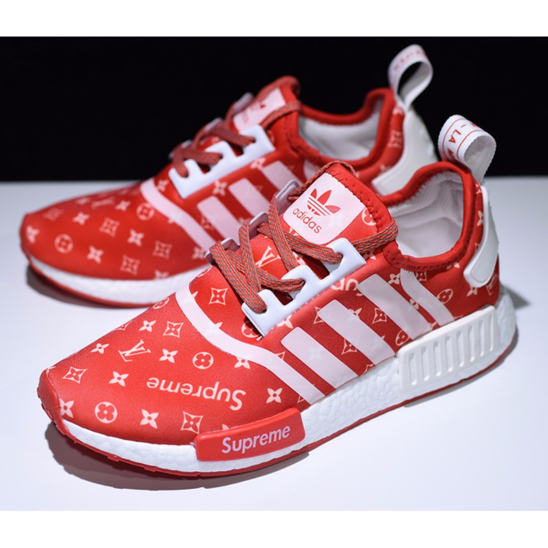 adidas x supreme x lv nmd r1 mens nmd limited edition amazon. Black Bedroom Furniture Sets. Home Design Ideas