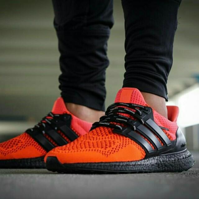 936573a2a3a Adidas ultra boost Solar Red 1.0