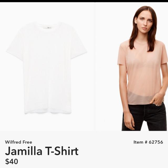 Aritzia WILFRED FREE Jamilla t-shirt
