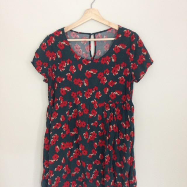 Asia poppy dress size 12