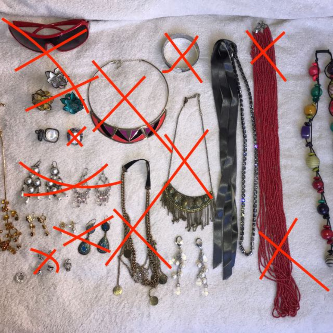 Assorted Costume Jewellery + Sunglasses