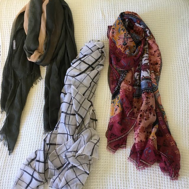 Assorted Scarves: Katies and Supre