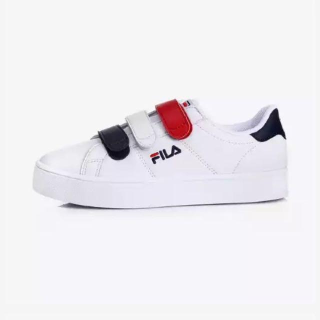 Shop - fila white velcro shoes - OFF 64