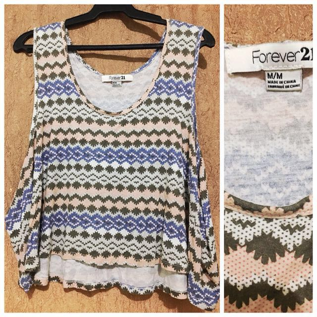 Authentic Forever21 Crop Top