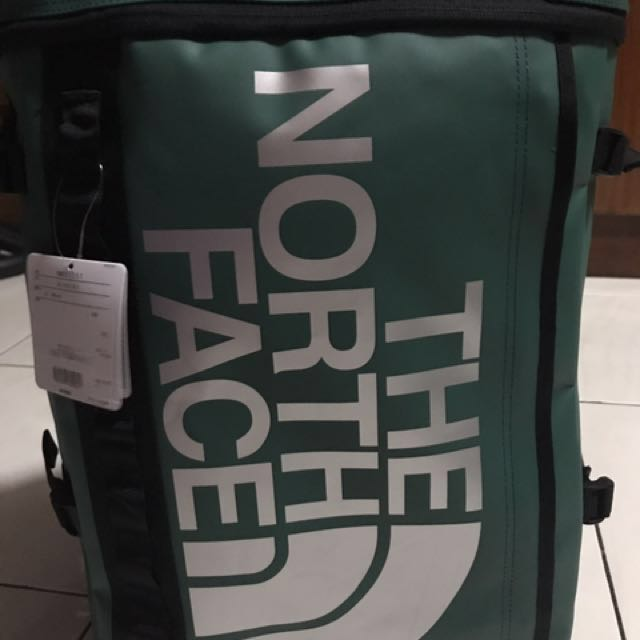authentic north face base camp fuse box backpack green men s rh ph carousell com  fuse box green