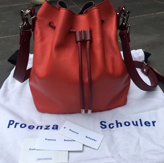 Authentic proenza schouler bucket bag