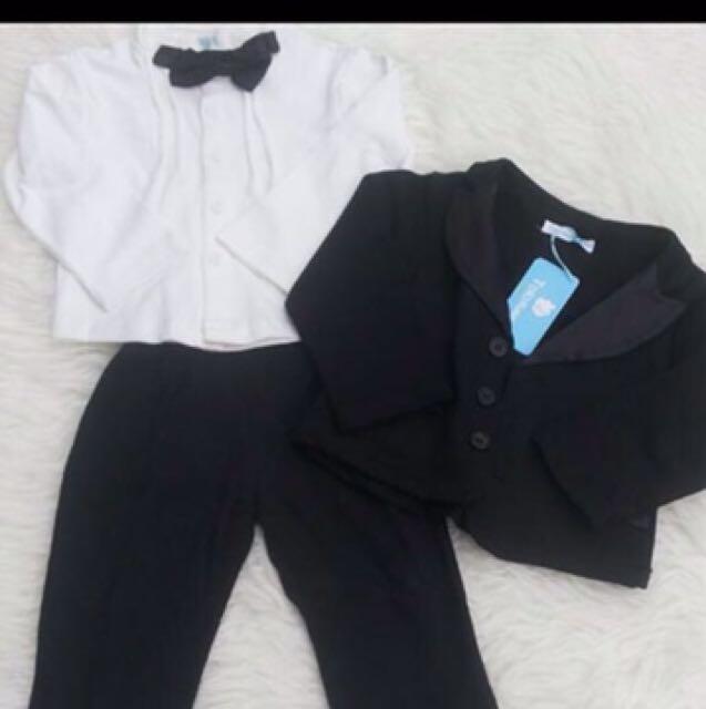 Baby boy suit set