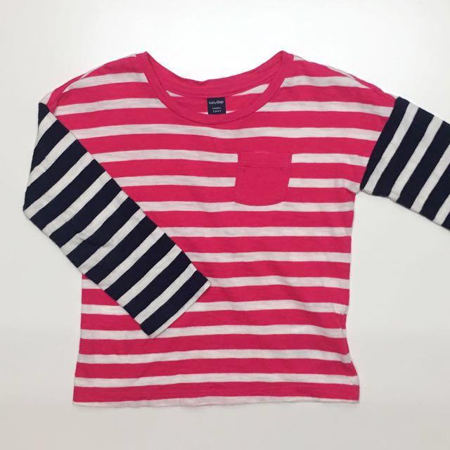 Baby Gap toddler 童裝 男童女童長袖上衣T恤