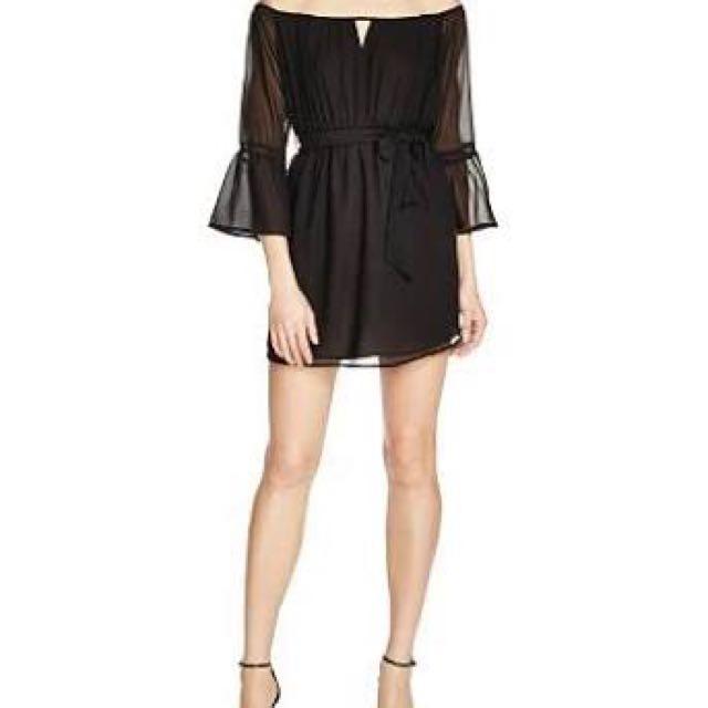 Bardot dreamer off the should dress