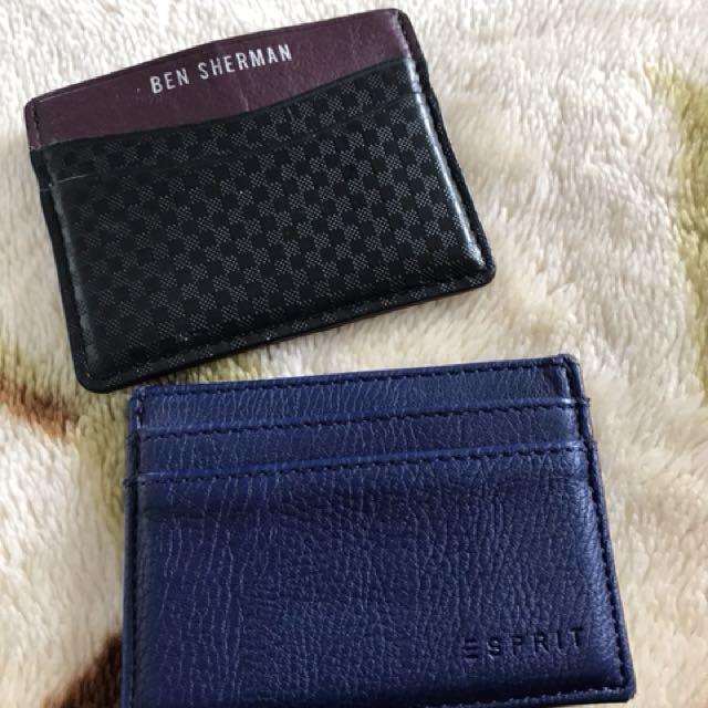 Ben Sherman & Esprit Card holder - great condition