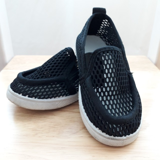 black netted shoes babies amp kids others on carousell
