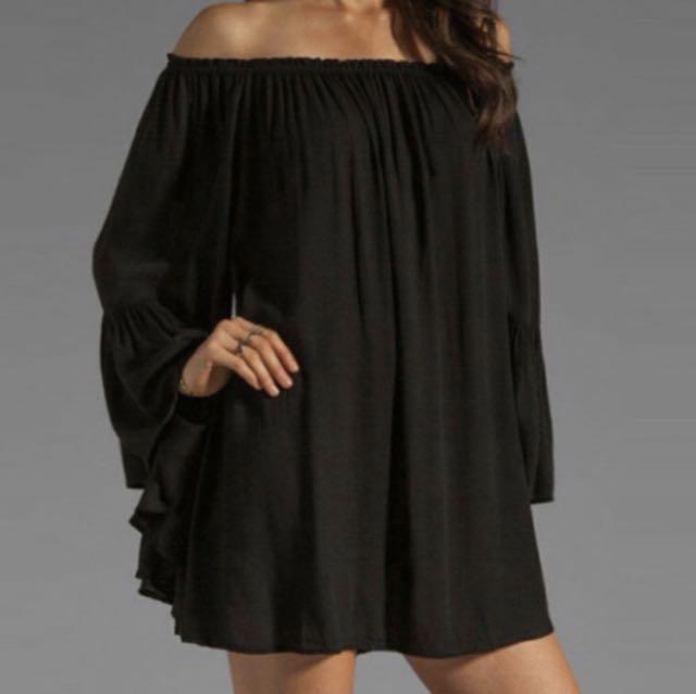 Black off the shoulder dress - NEW