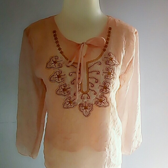 Blouse import hongkong