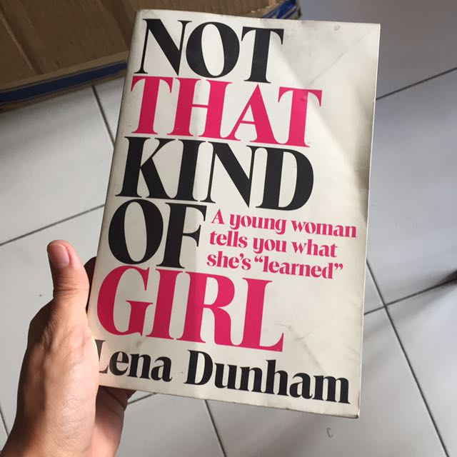 Book: NOT THAT KIND OF GIRL
