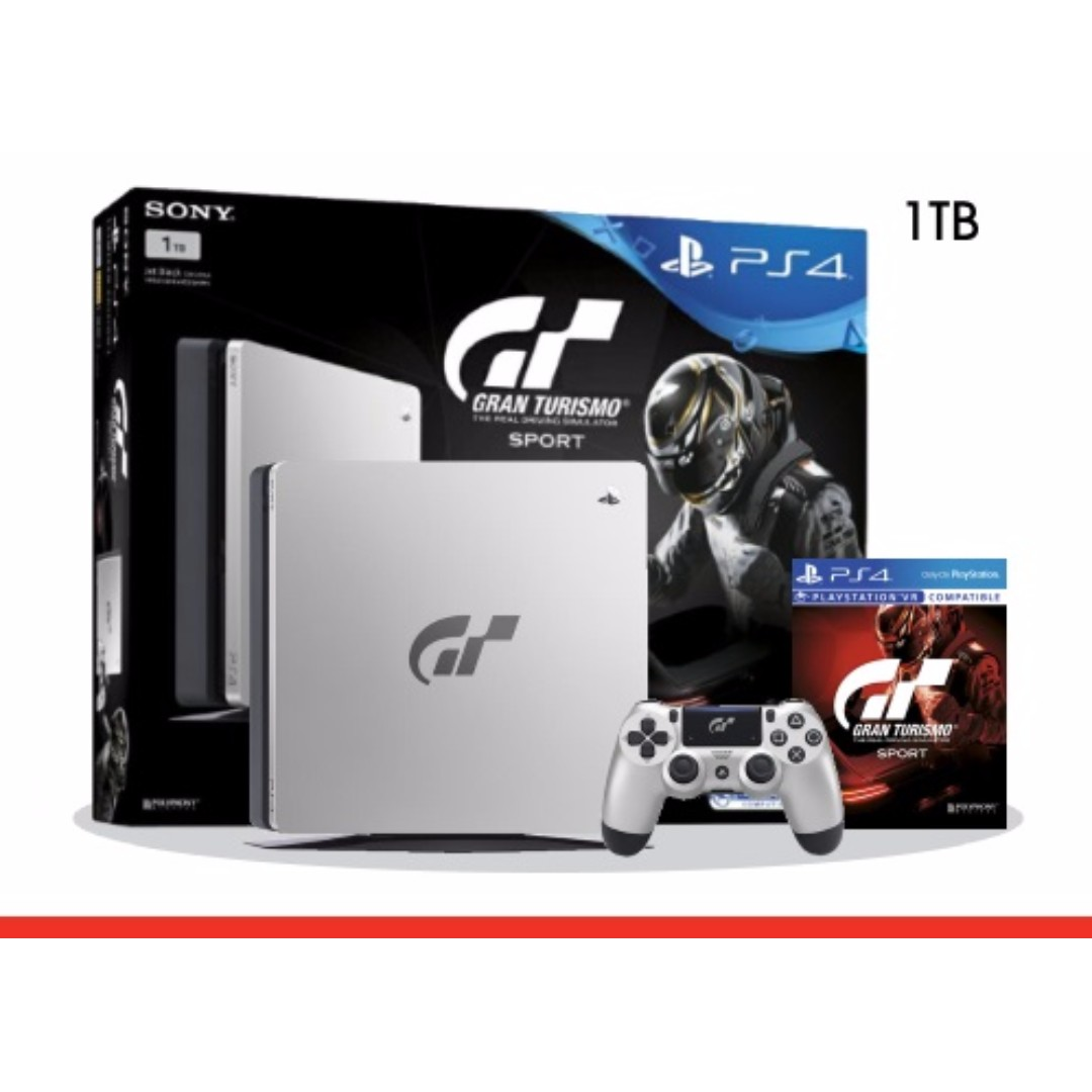 Brand New PS4 Slim 1TB Gran Turismo Sport Limited Edition Console
