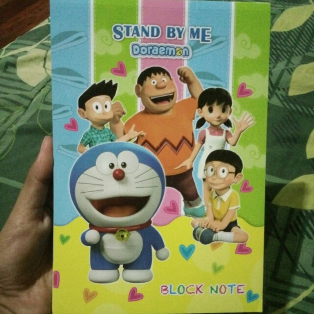 Buku block notes Doraemon Stand by me
