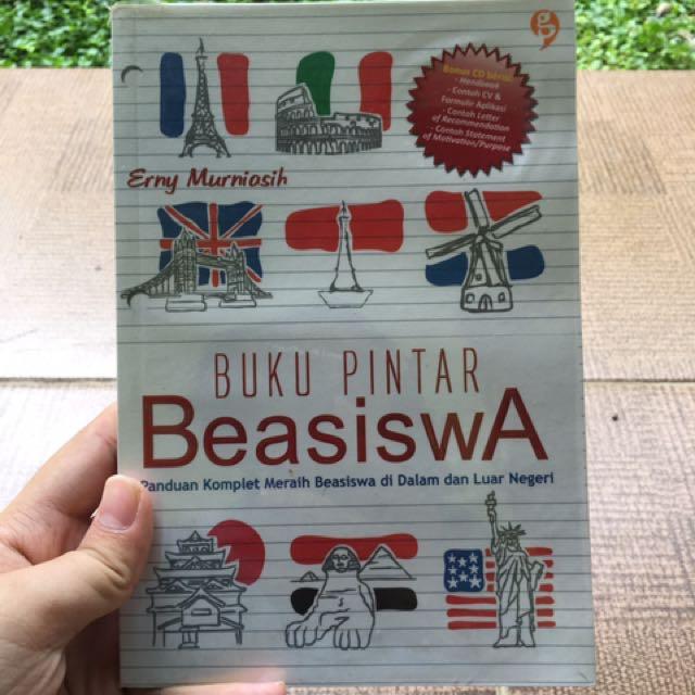 Buku pintar beasiswa - erny murniasih (second, very good condition)