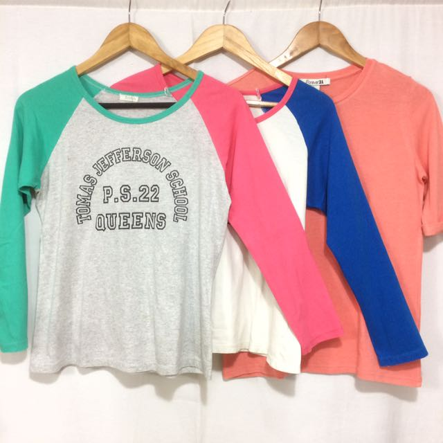 BUNDLE of 3 shirts