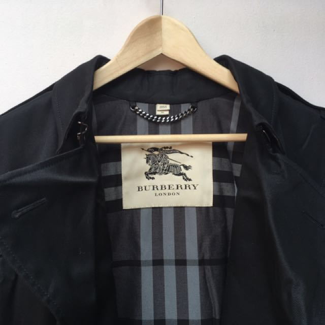 Burberry Mid Length Trench Coat