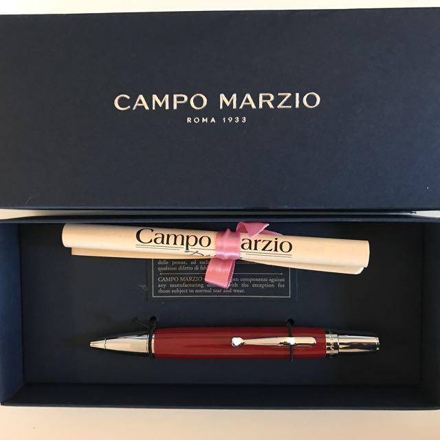Campo Marzio Pen With Certificate