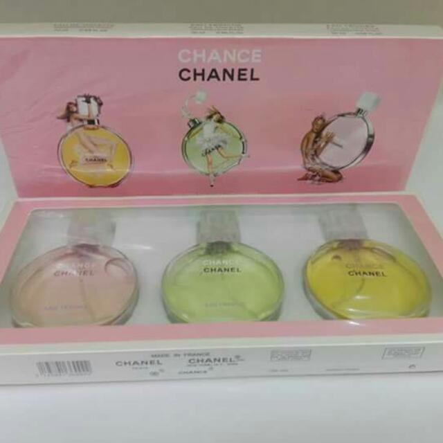 chanel set of 3
