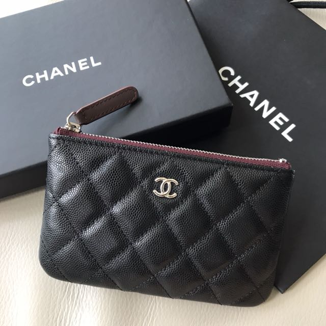 4b34e38ee411 Chanel 黑色牛皮coins Bag, Luxury, Bags & Wallets on Carousell