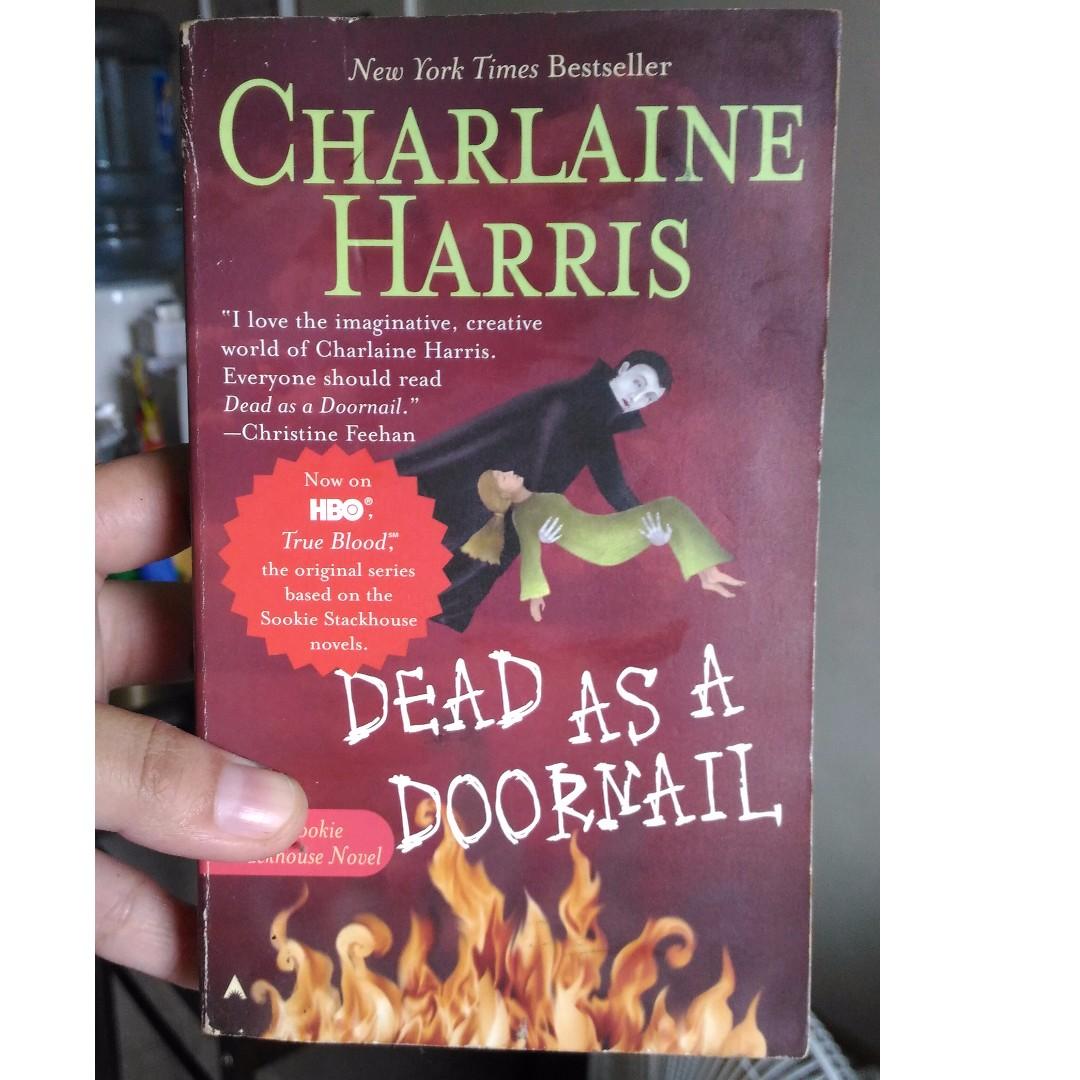 Charlaine Harris Dead as a Doornail, Books, Books on Carousell