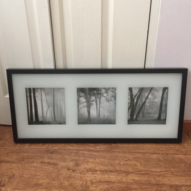 Clearance Ikea 3 In 1 Bw Picture Frame Furniture Home Decor