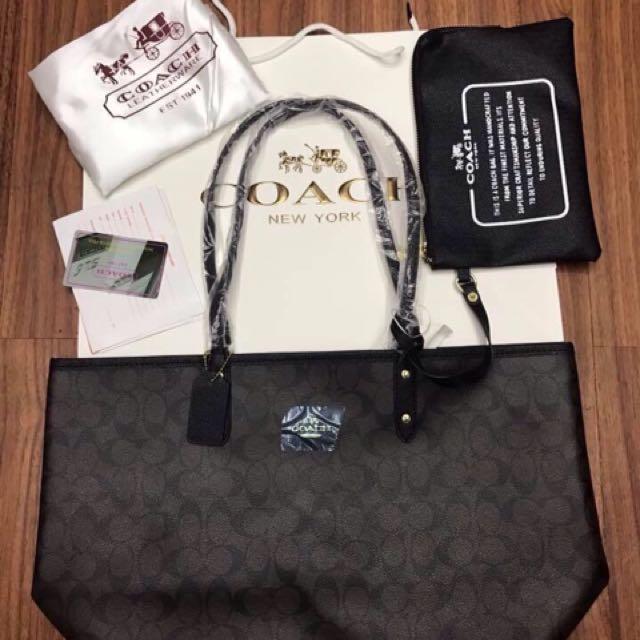 COACH Reversible Tote Bag fc112cff971df