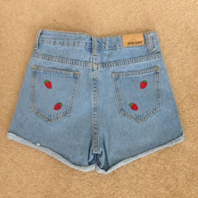 Denim shorts size 1 (6)