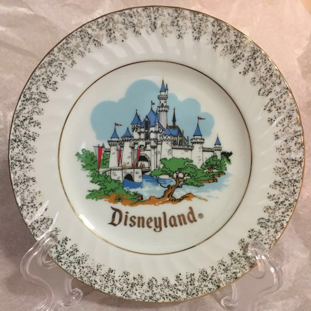 Disneyland Plate