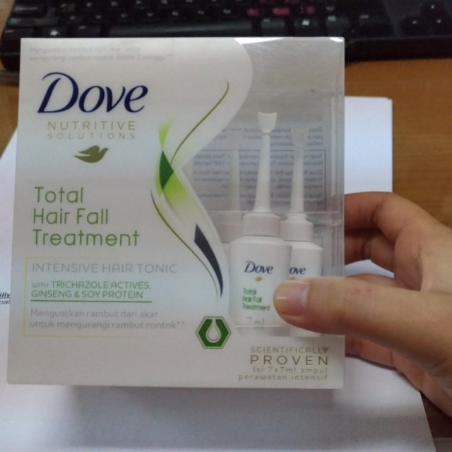 Dove hairfall treatment serum