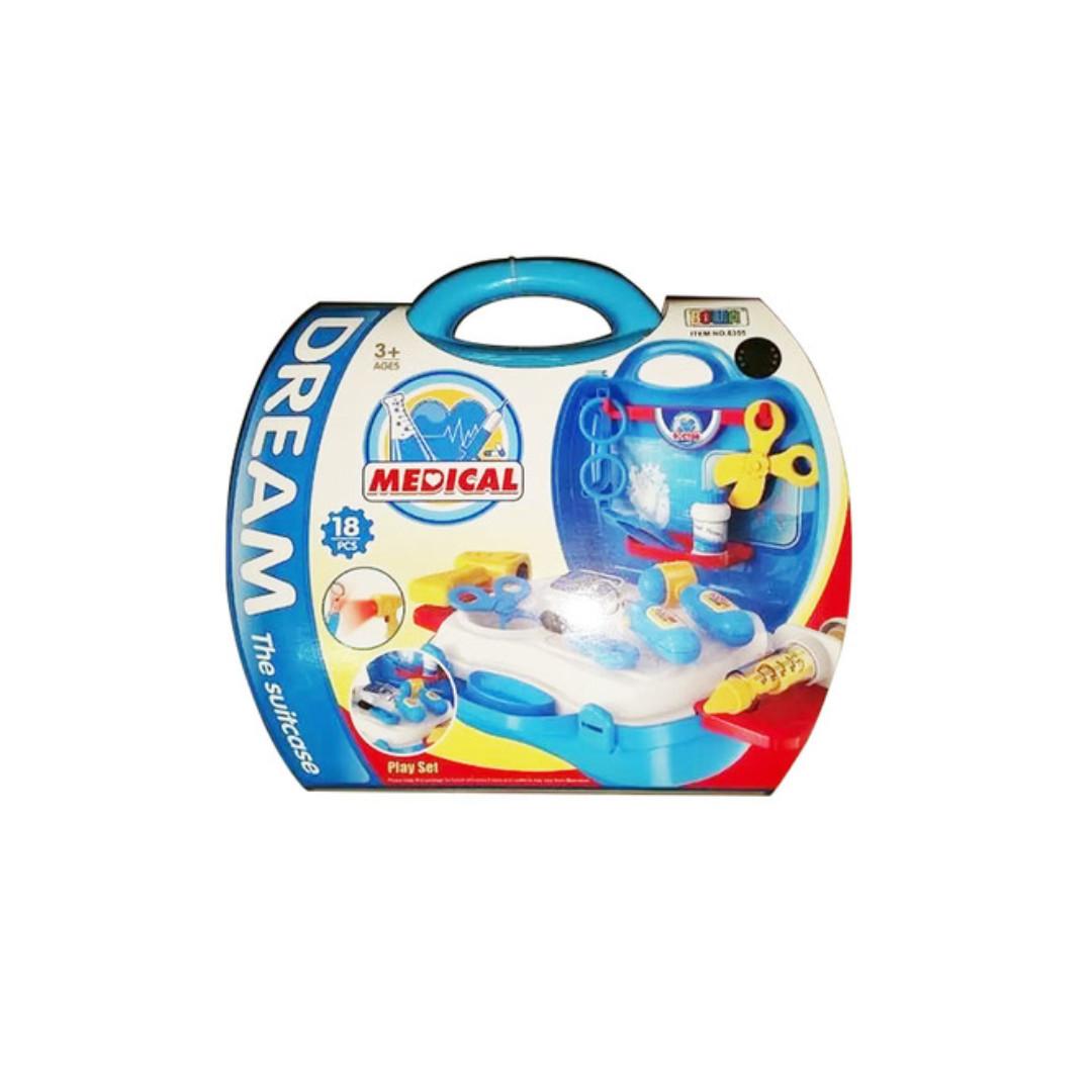 Dream Medical Tools Suitcase Children's Kid's Pretend Play Toy