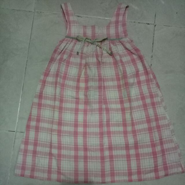 Dress Pink Anak Brand Litmus Kids Size 6