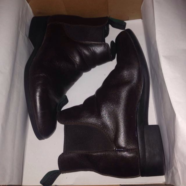 Equestrian Leather Horse Riding Boots