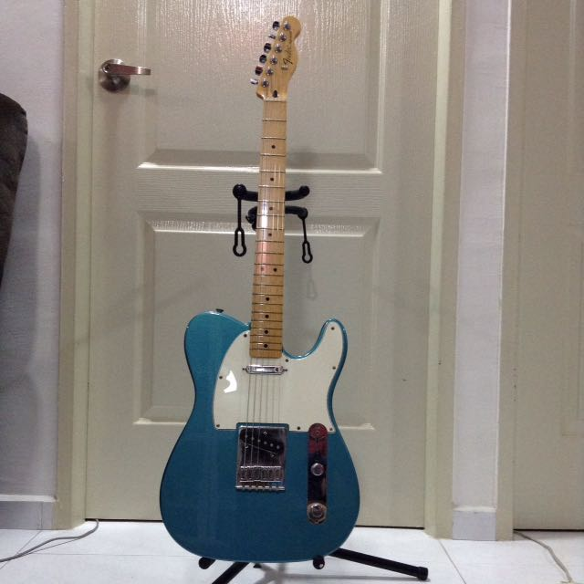fender mim telecaster 2016 lake placid blue music media music