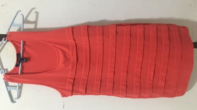 Forever 21 Coral Bodycon Dress