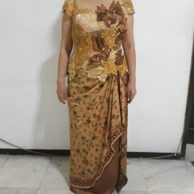 Gaun Pesta Batik Women S Fashion Women S Clothes Dresses Skirts
