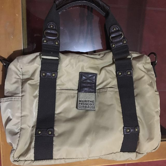 Girbaud Brown Bag (with Extra Long Strap)