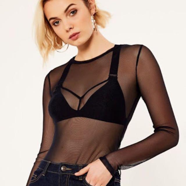 Glassons mesh bodysuit