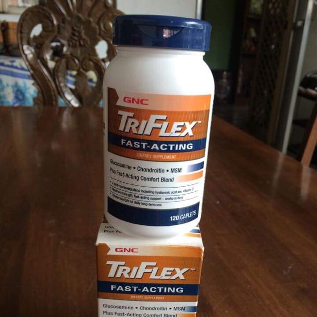 GNC triFlex fast acting dietary supplements