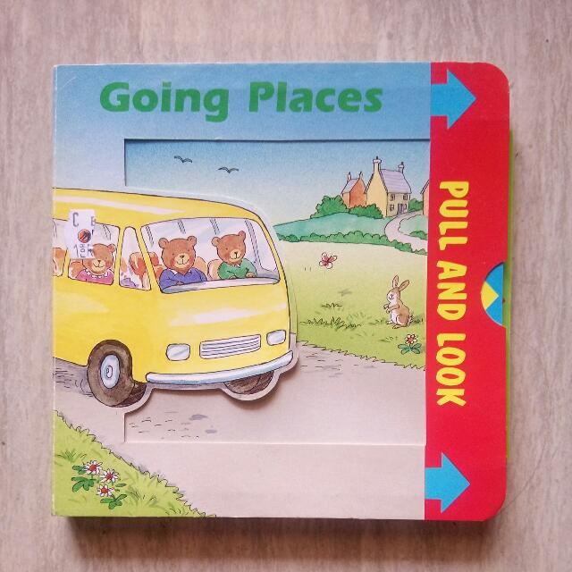 Going Places Book