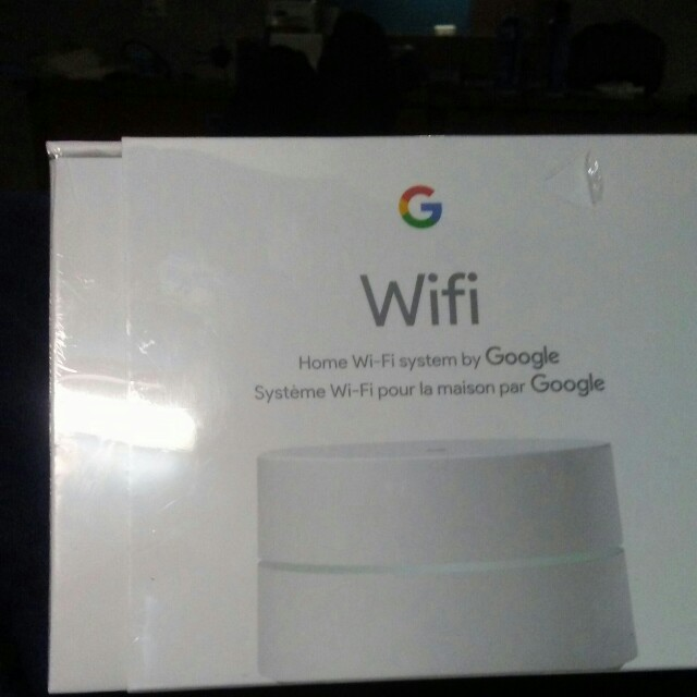 Google home Wifi router sealed