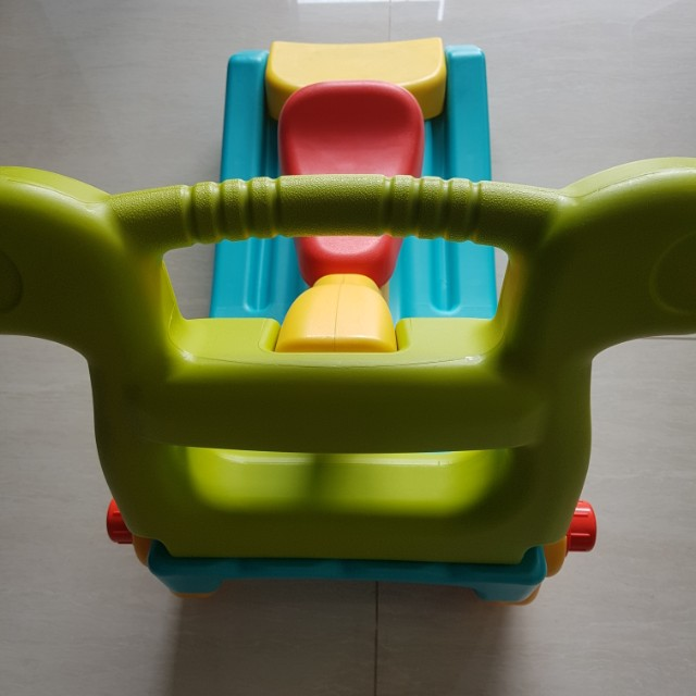 Grow'n up 2-in-1 slide to rocker (free delivery), Babies & Kids, Toys & Walkers on Carousell
