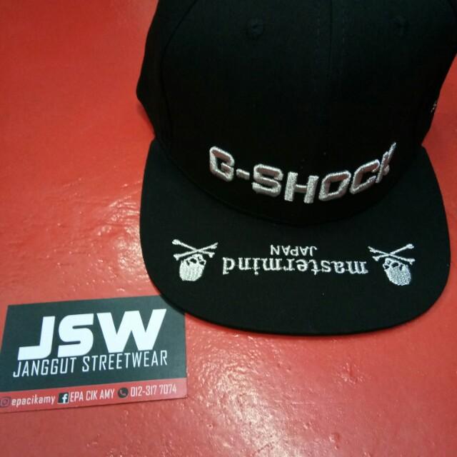 b5a507a20dd G-shock snapback cap