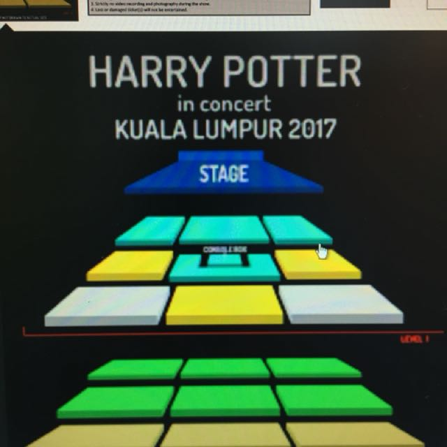 Harry Potter concert on 5th Nov at KLCC