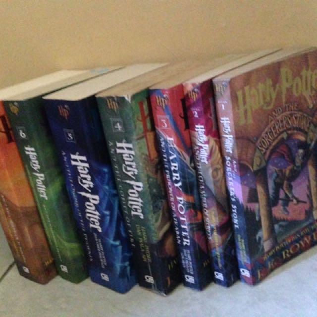 Harry potter series 1-3 ORIGINAL