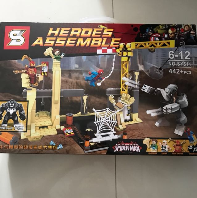 Heroes Assemble (LEGO type) +6-12